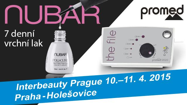 <i><a href='/magazin/?c=3679'><h3>Na veletrh Interbeauty se značkami Promed a Nubar</h3><p>Potřebujete vybrat novou brusku nebo si chcete udělat radost barevným lakem na nehty? Pak byste se jistě měli zastavit u stánků Promed a Nubar na letošním veletrhu krásy Interbeauty Prague.</p></a></i>