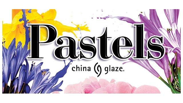 <i><a href='/magazin/?c=6079'><h3>CHINA GLAZE představuje novou kolekci: PASTELS</h3><p>Hravé, éterické, svěží i důmyslné, takové jsou barvy nové kolekce PASTELS od China Glaze. </p></a></i>