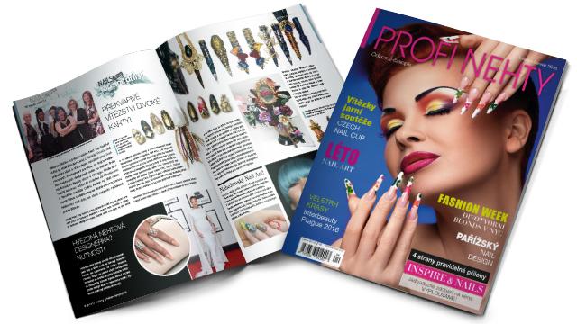 <i><a href='/magazin/?c=5367'><h3>Nejnovější vydání časopisu Profi Nehty – letní trendy pro nehtové profesionály</h3><p>Inspirace, postupy a rady pro nehtové designéry v novém svěžím vydání časopisu Profi Nehty.</p></a></i>